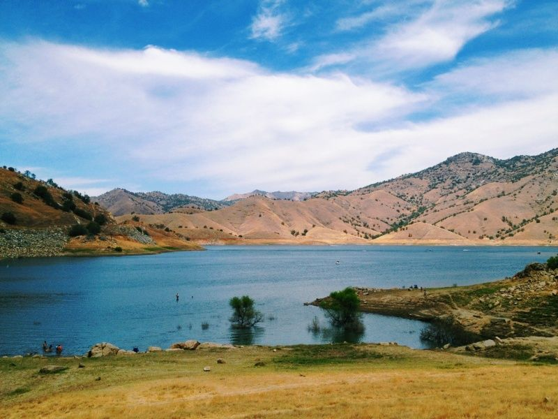 Lake Kaweah, CA #nature #lake