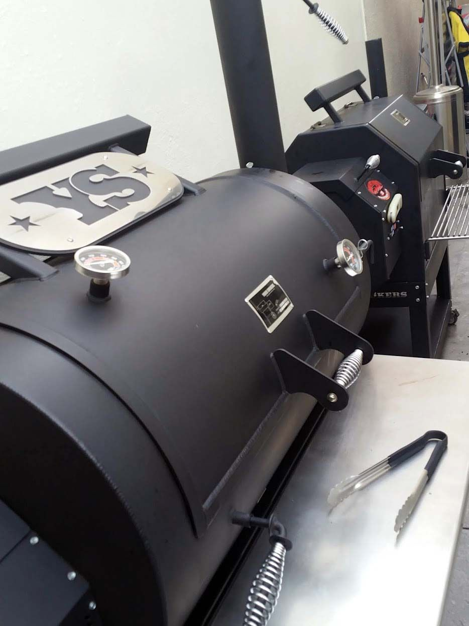 Insomniacs BBQ Team's Yoder Smokers YS1500 and YS640 Pellet