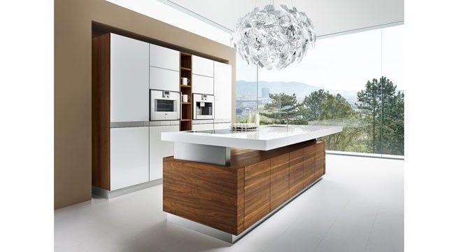 die k7 küche von team 7 eignet sich optimal für offene lebensräume ... - Offene Kuche Wohnzimmer Esszimmer