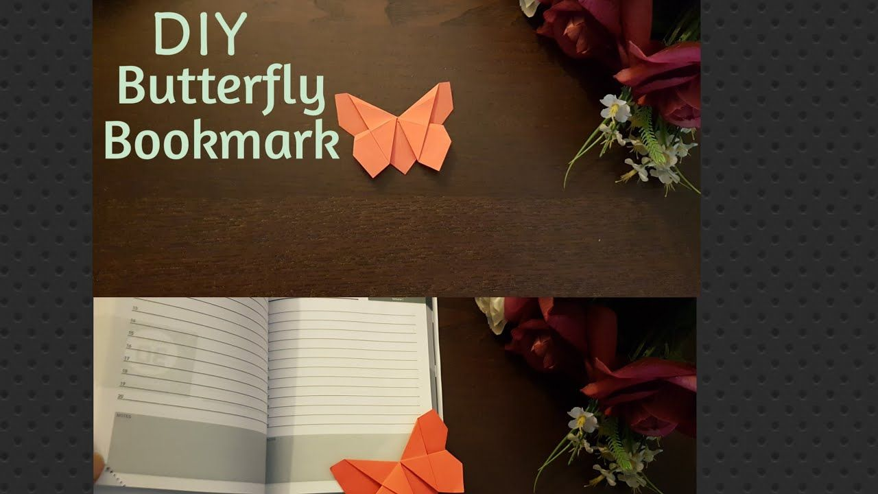 Photo of How to make an origami Bookmark butterfly Tutorial/Origami facile:Marque page papillon