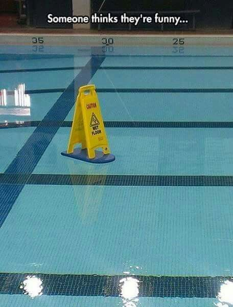 Watch Your Step Swimming Funny Swimming Jokes Swimming Memes