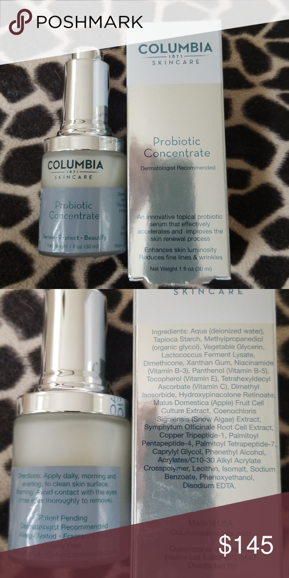Columbia Probiotic Concentrate Skincare Ingredients Probiotics Concentration