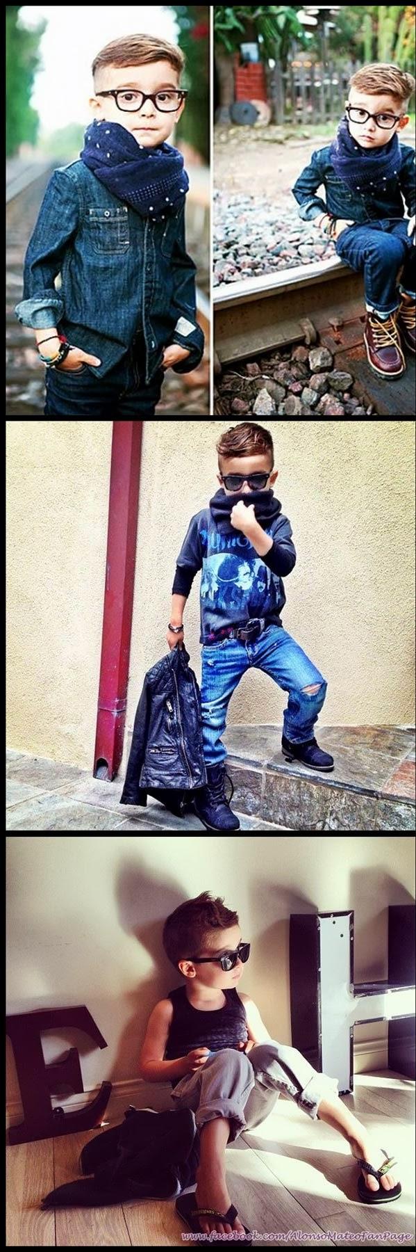 Blog Serius: Serius Cute - Alonso Mateo : Si Cilik Yang Lebih Stylo Dari Anda (15 Gambar)