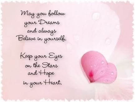 May You Follow Your Dreams