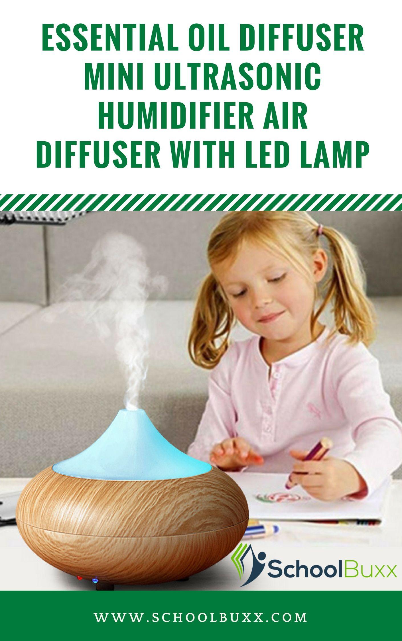 Home essential oil diffuser mini ultrasonic humidifier