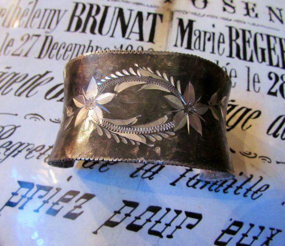 Antique+sterling+bracelet+cuff+Madonna+Saint+by+madonnaenchanted,+$139.00