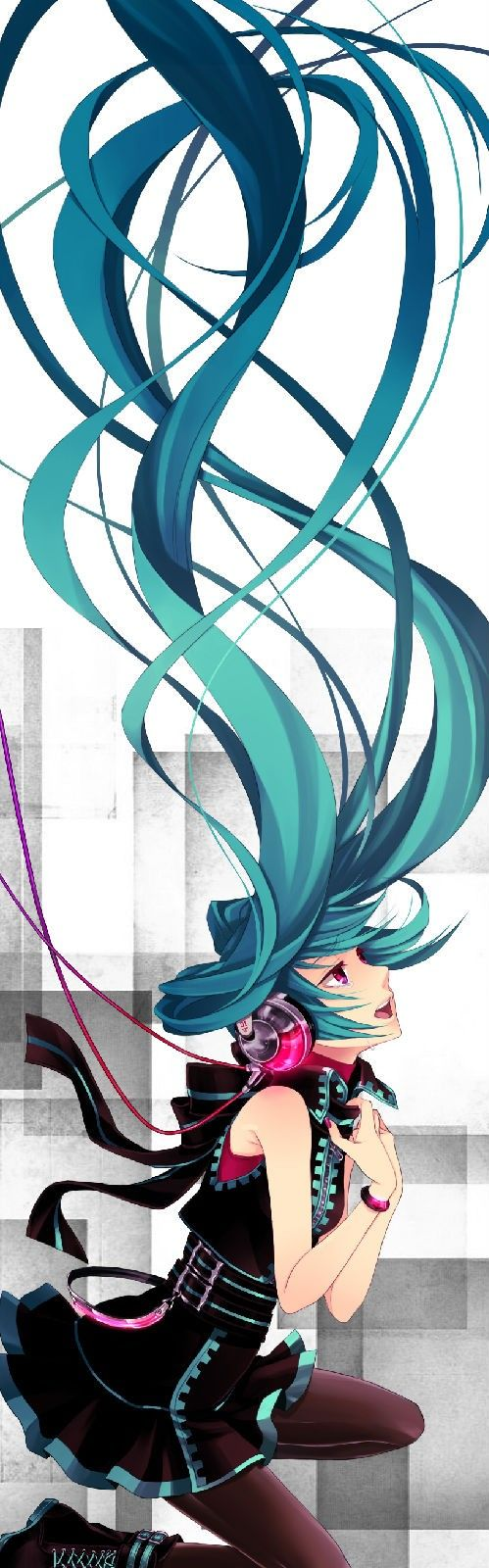Hatsune Miku Not An Actual Anime But Ill Just Put Her Here