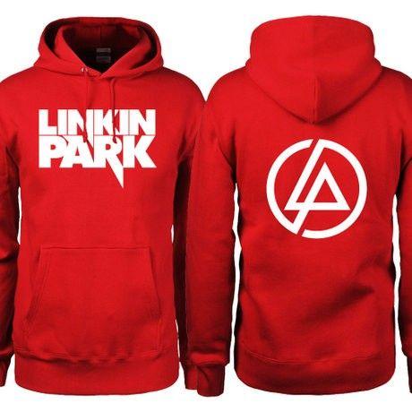 BIG Linkin Park LOGO and LP circle on back hoodie   Linkin