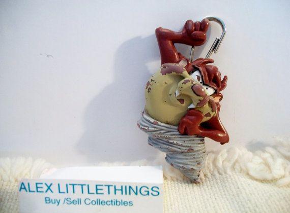 Tasmanian Devil Taz Key chain keychain charm by ALEXLITTLETHINGS