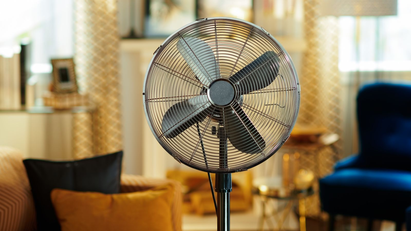 A Fan Won't Always Cool You Off in Hot, Dry Weather Cool