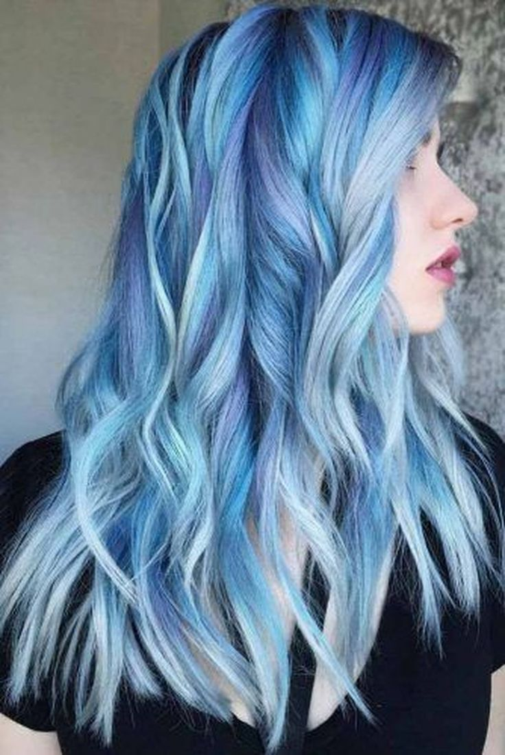 inspiring bold ombre hair colors ideas trend light blue