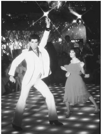 Saturday Night Fever...such a cheesy movie...I loved it  :)
