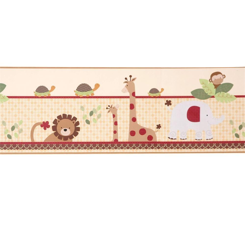 Coco Tails Wallpaper Border Nursery Pinterest. Girls Bedroom Wallpaper Border   Home Design