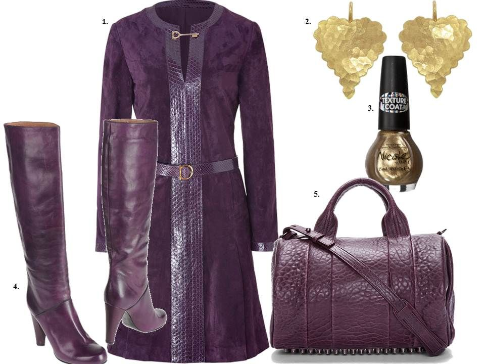 Loving this color of plum. Get inspired and shop this look at http://www.thefashionistastories.blogspot.com//search?q=loppstyle