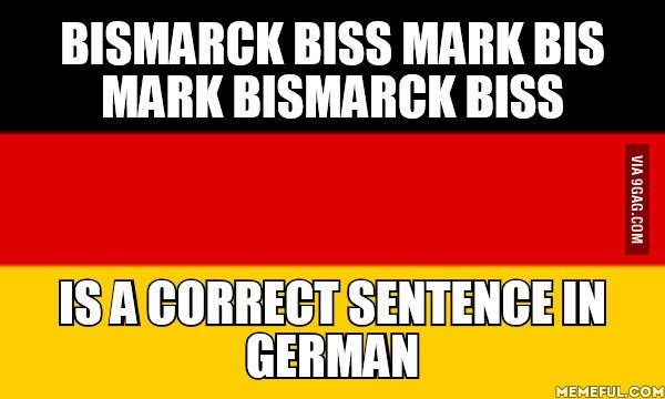 German is a weird language - Funny