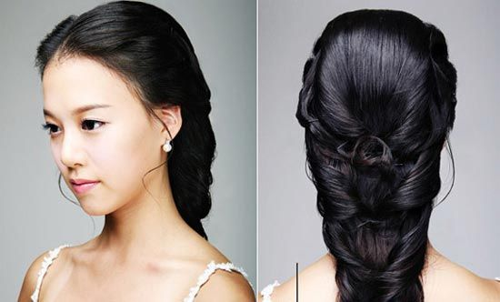 The Northern Bride Braid Hairstyles For Your Wedding Hair Styles Asian Hair Asian Long Hair