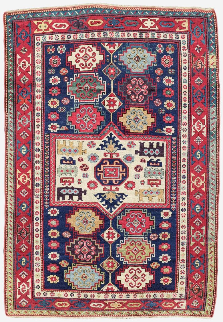 A Kazak Rug South Caucasus Second Half 19th Century 7 Ft 11 In X 5 Ft 5 In 242 Cm X 166 Cm This Lot Was Antique Oriental Rugs Rugs On Carpet Oriental Rug