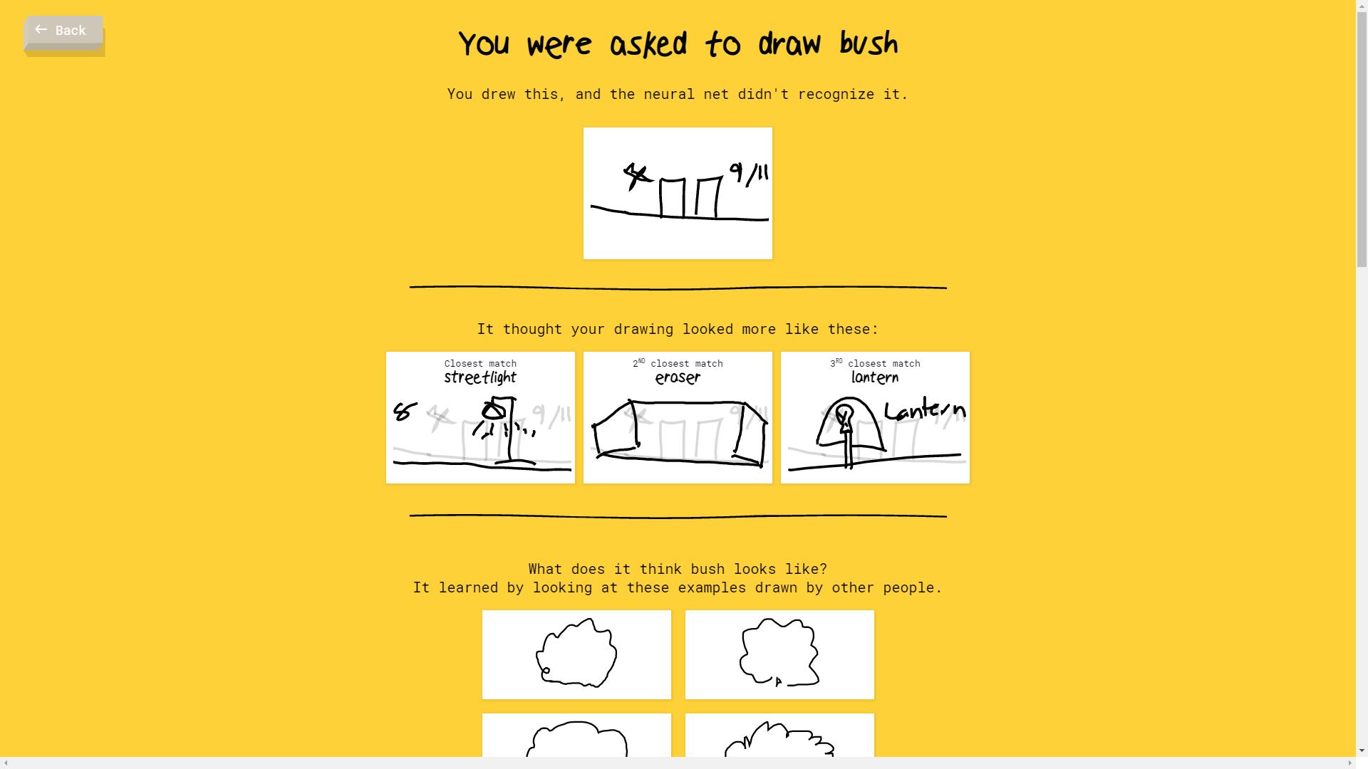 Google Quick Draw Doesn T Recognize Bush Latestgames