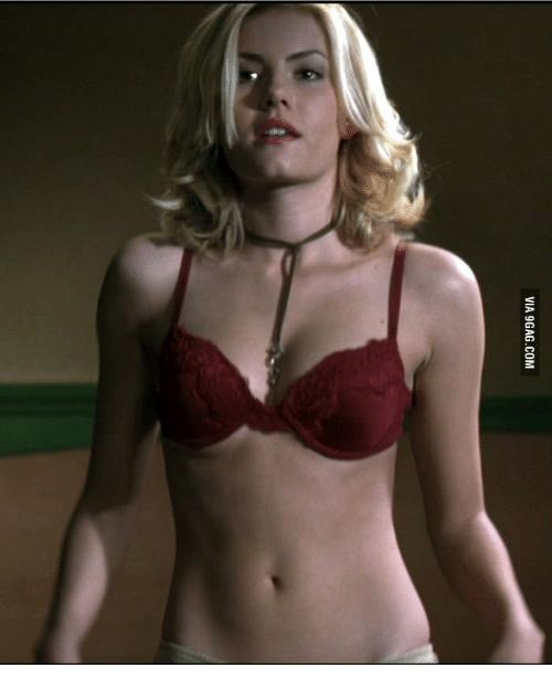 Elisha Cuthbert And Bra Gif Via 9Gagcom  Sexy In My Bra -1187