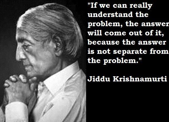 Does God Exist? J. Krishnamurti