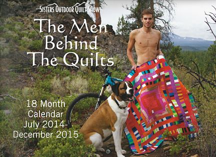 Quilts AND (sorta) nekkid men?! Life is good!! men behind the ... : men in quilts - Adamdwight.com