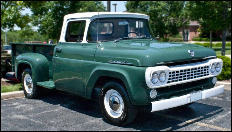 1958 Ford Pickup Maintenance Restoration Of Old Vintage Vehicles The Material For New Cogs Casters Gears Pads Could Be Ford Pickup Trucks Classic Ford Trucks