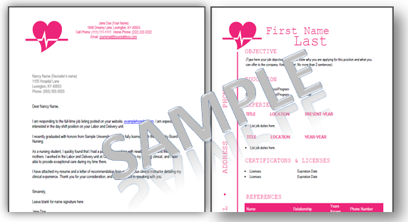 these are some great resume templates and cover letters