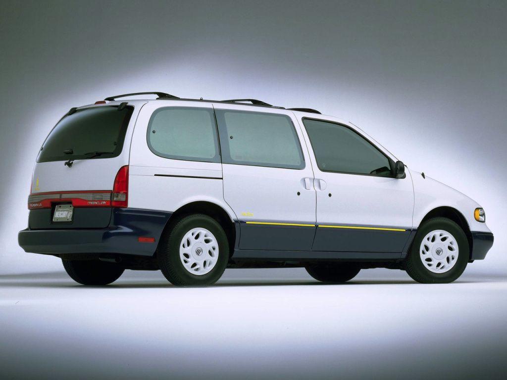 Mercury Villager Nautica 1997 Mercury Villager Mini Van