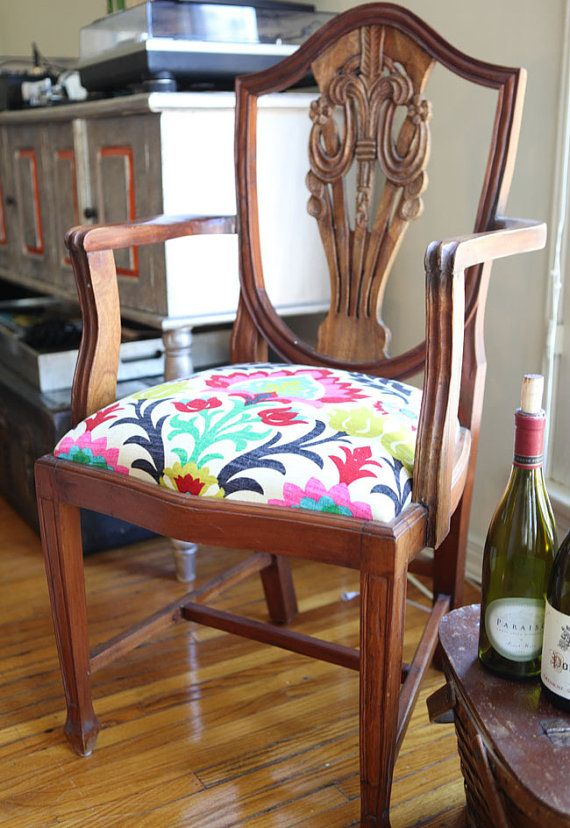 1920s Chair Arts And Crafts Wooden Armchair Hand By Pinkpianos
