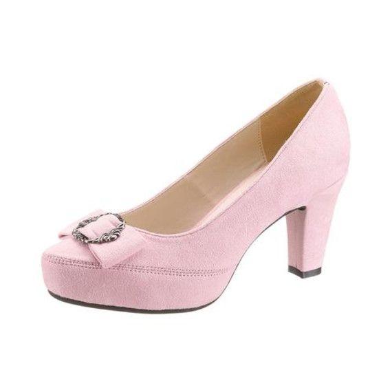 Andrea Conti Trachten-Pumps, rosa, rosa