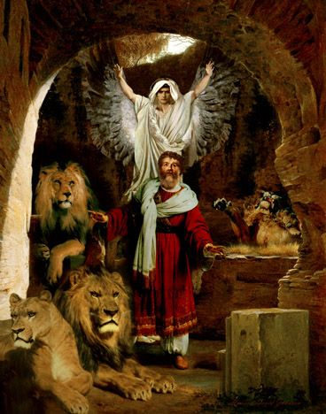 "My God sent his angel, and he shut the mouths of the lions. They have not hurt me, because I was found innocent in his sight. Nor have I ever done any wrong before you, Your Majesty."" (Daniel 6:22 NIV)"