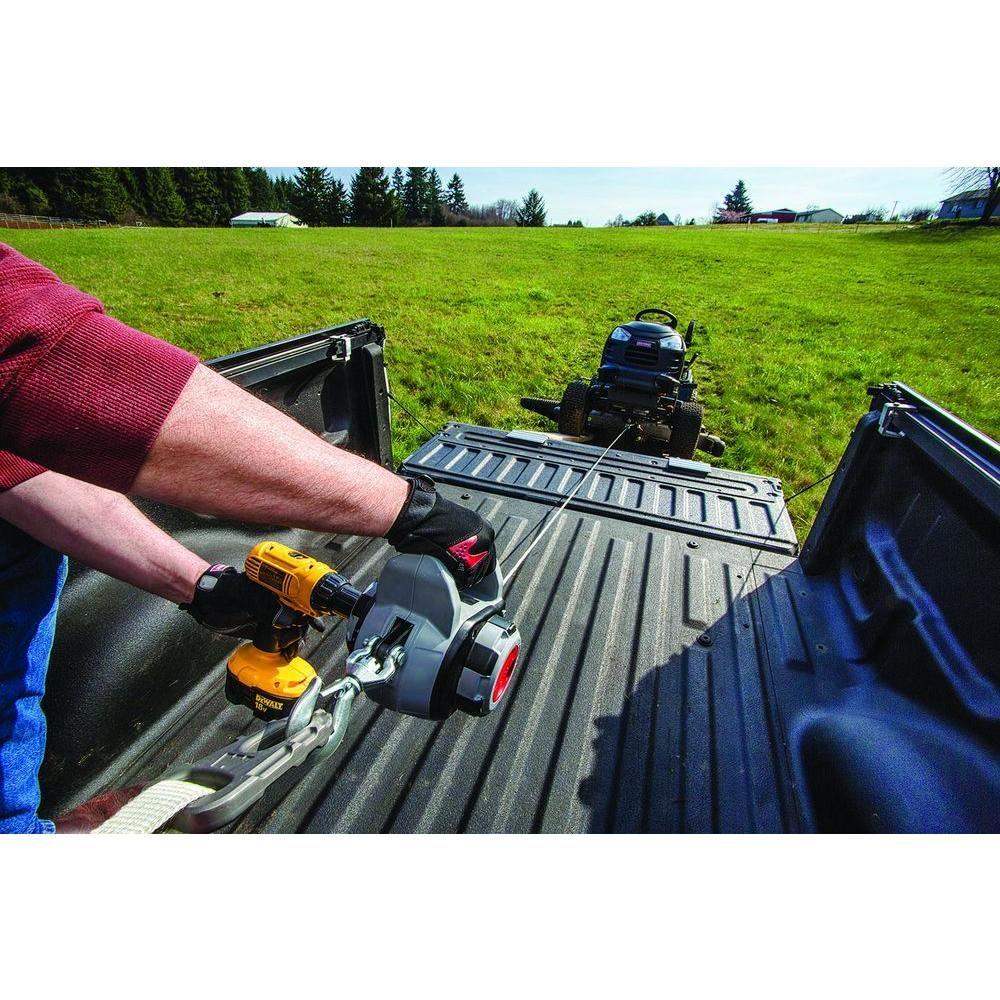 Warn 500 lbs. Drill Winch910500 The Home Depot Drill