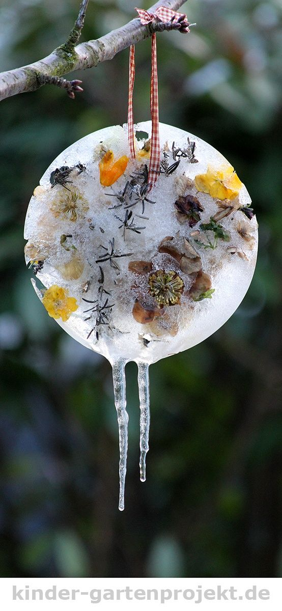 Coole Gartendeko Aus Naturmaterialien Selber Machen: Mit Eistalern Den  Garten Dekorieren #Garten #Gartendeko