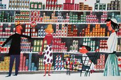 grocery store children's book illustrations - Google Search