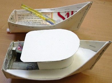 Google Image Result for homemade toy boats, great idea for date, race them in your local lake or ...