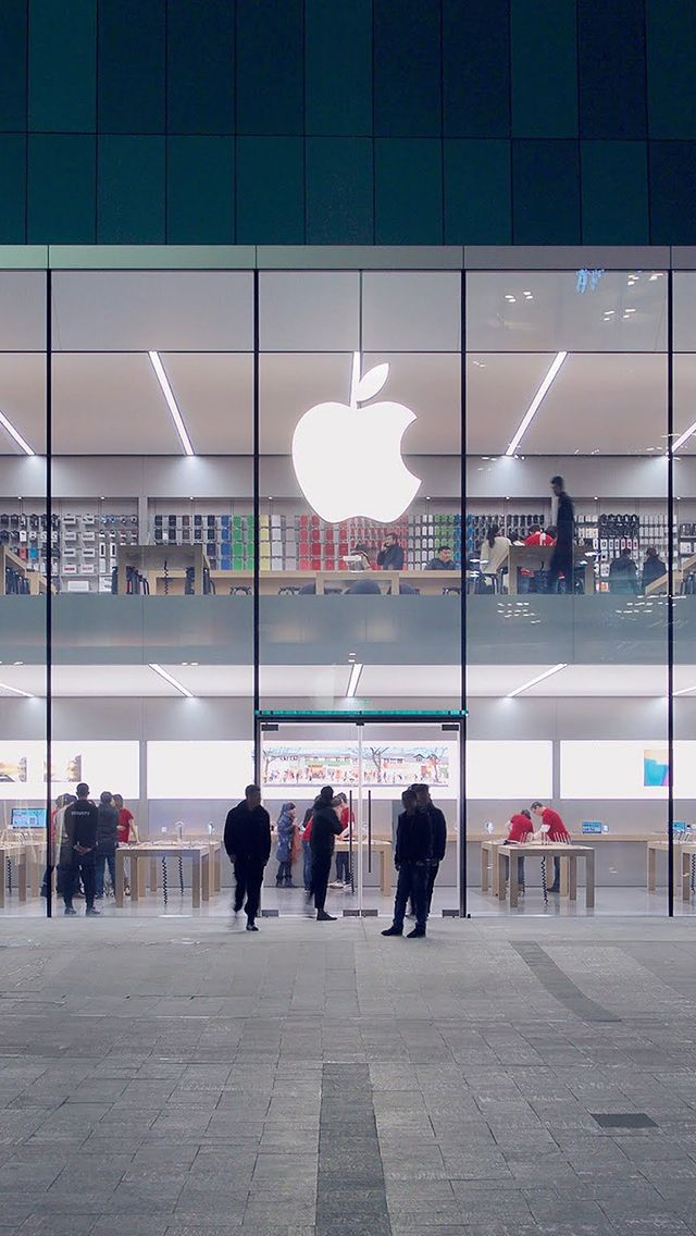 Apple Store Front Architecture City Iphone Wallpapers Apple Store Best Iphone Wallpapers City Iphone Wallpaper