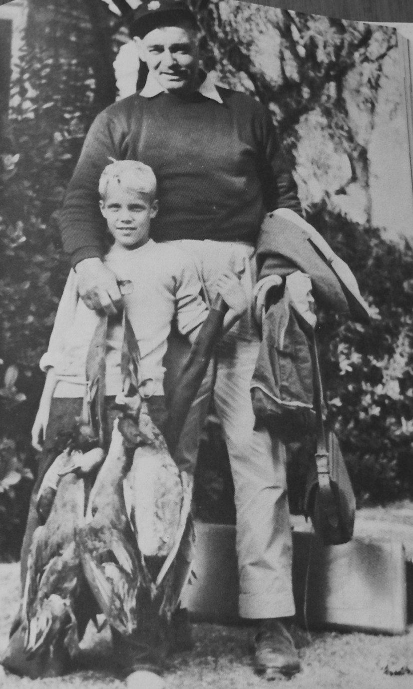 Clark Gable and his step son