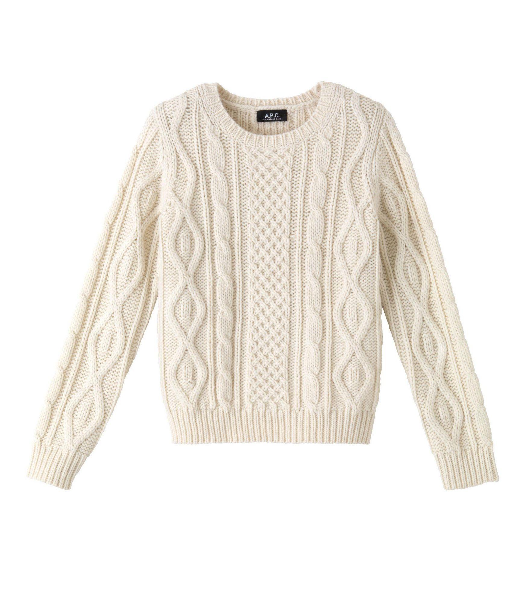 Irish pullover - Off white - A.P.C. WOMEN