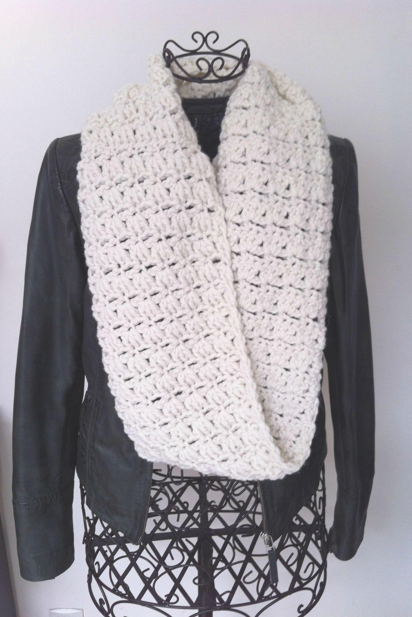 snood avec tuto en français | patron foulard tricot | Pinterest ...