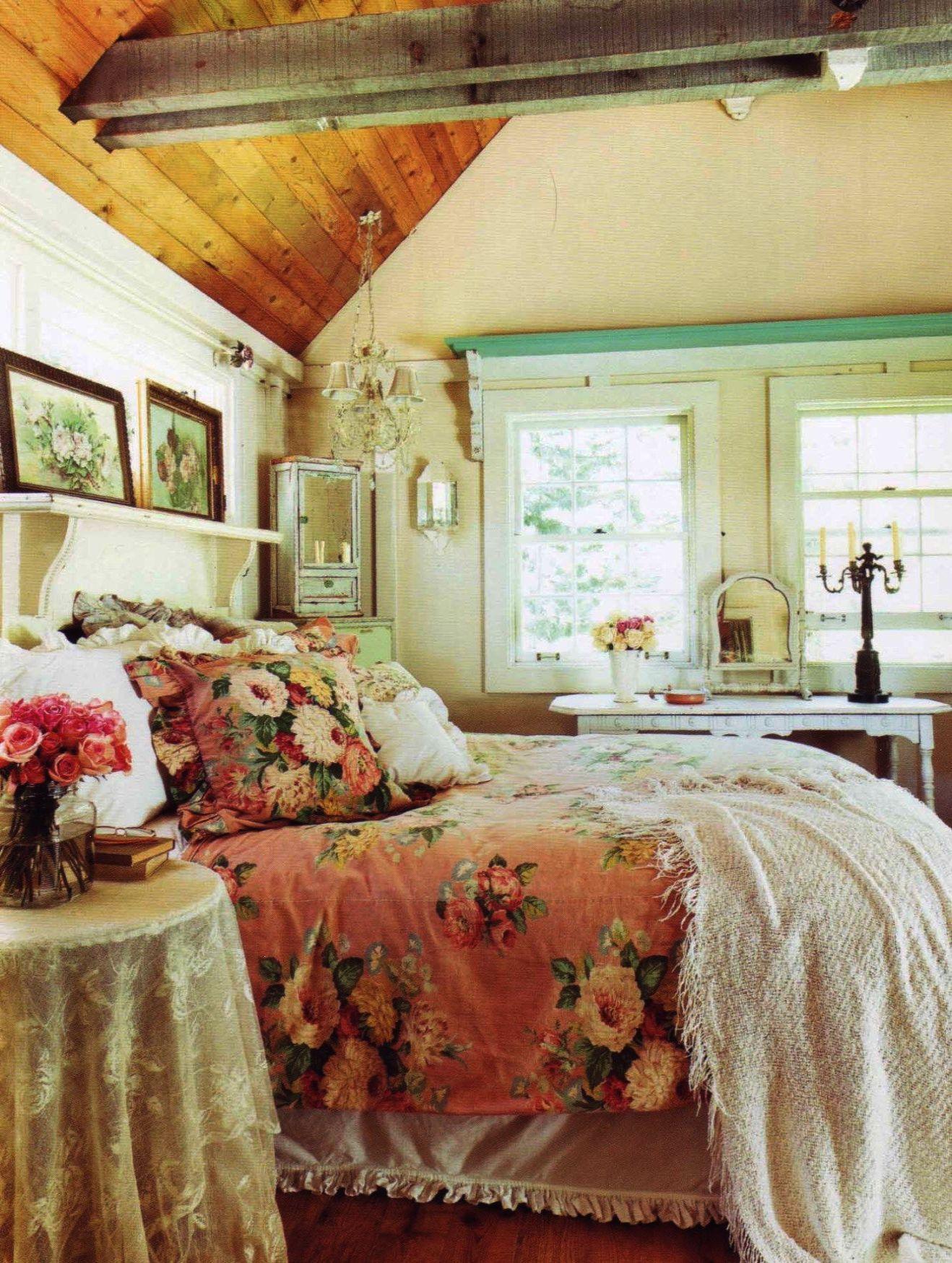 Elegant Romantic Bedrooms: Romantic Prairie Style By Fifi O'Neill