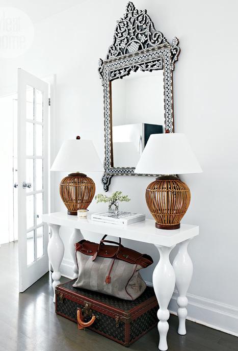 Foyer Mirror University : Clean and crisp foyer future home inspiration