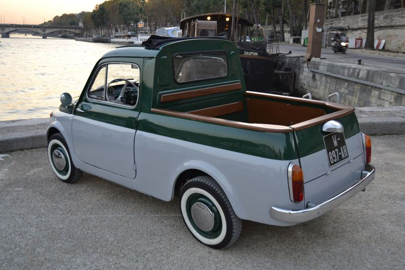 Fiat 500 Pick Up Very Cute I Have Never Seen One Like This