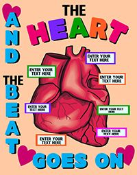 Make a Science Fair Project about the Heart: Heart Anatomy Science ...
