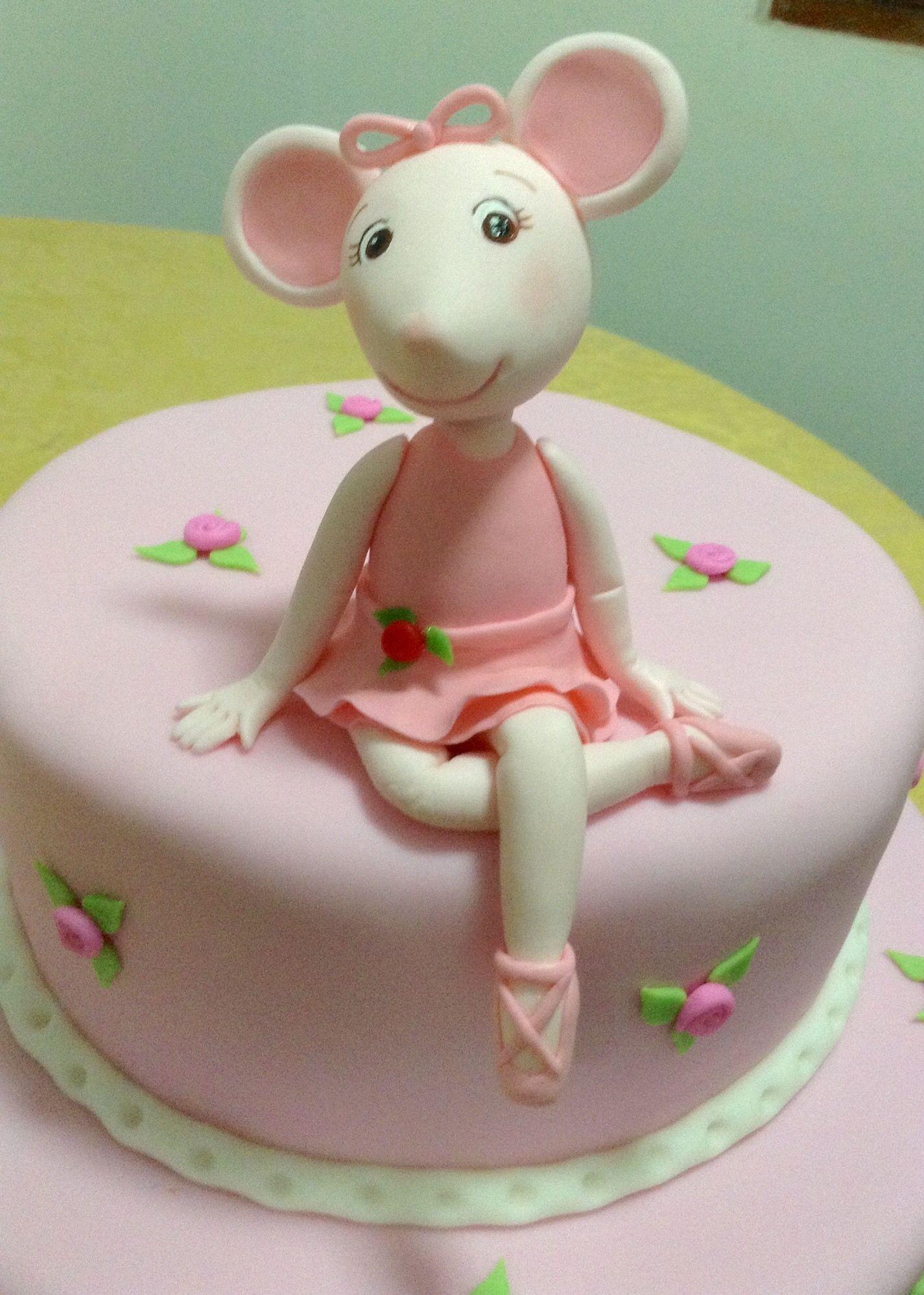 Angelina Ballerina Cake Ideas