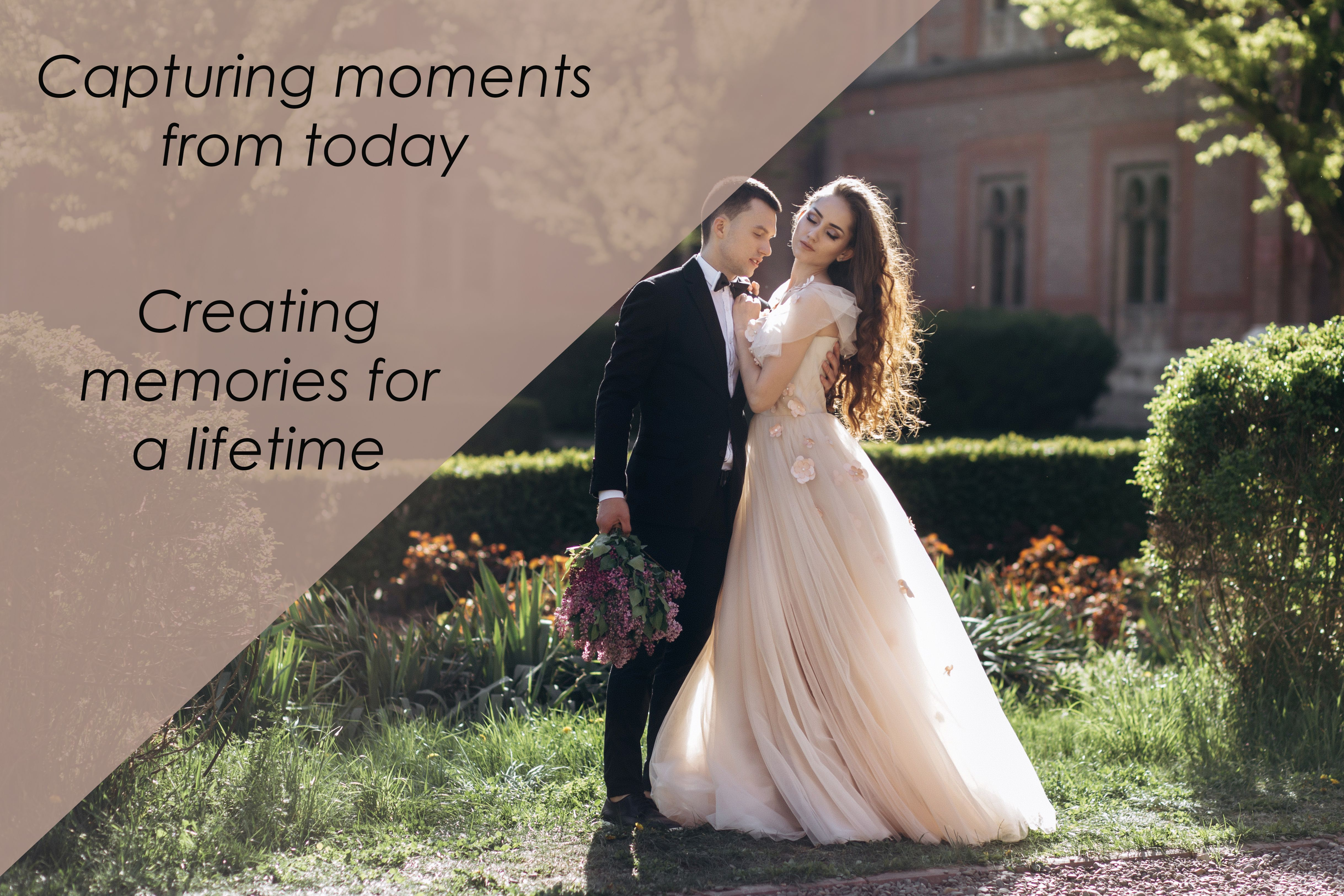 We tell your story of love and passion with our skilled