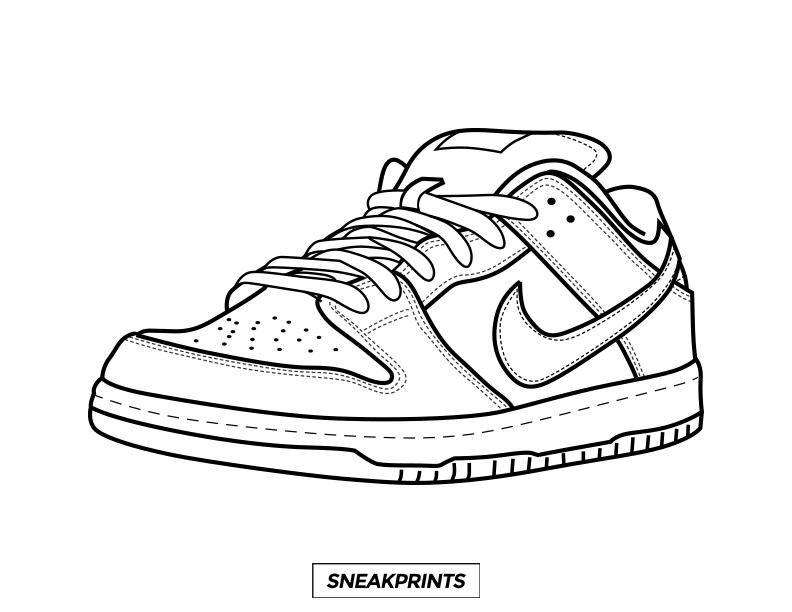 Sneakprints Sneakers Drawing Shoe Design Sketches Sneaker Art
