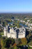 France, Oise, Pierrefonds, the castle