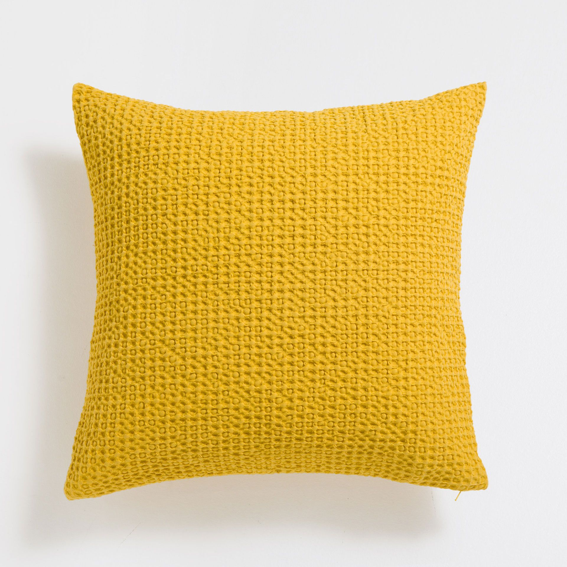 Yellow mesh cotton cushion cover pillows and bedrooms
