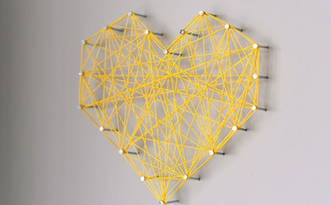 Nailed It: Threaded Wall Art via Brit + Co.