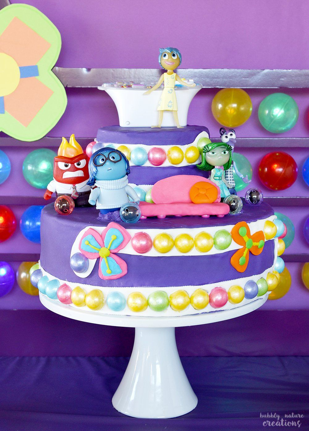 Inside Out Movie Party Inside Out Cakes Inside Out Party Ideas